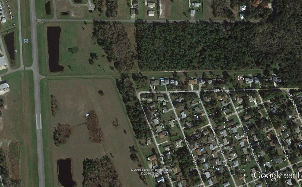 Massey Ranch Airpark lot for sale on taxiway