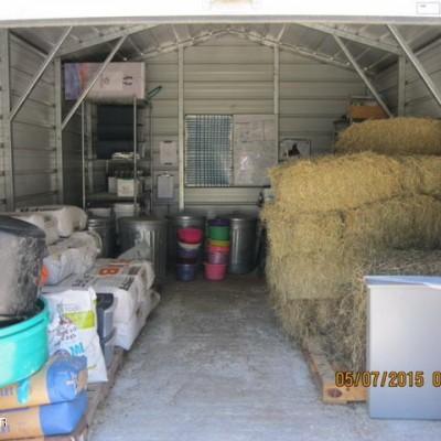 Feed Barn Storage