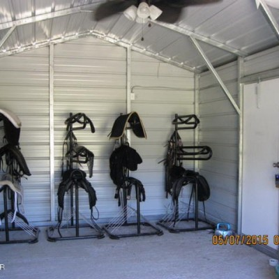 Tack Room with Electric