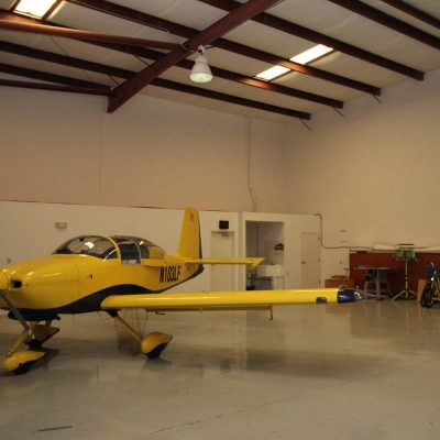 Spruce Creek hangar for sale
