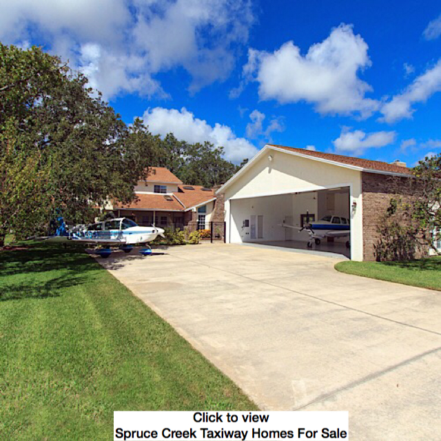Spruce Creek Taxiway Homes For Sale