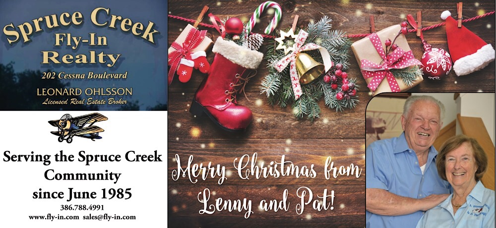 Merry Christmas from Spruce Creek Real Estate